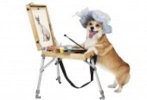 Dog Painting C6e8ab3c9e20f81620ea3fc6a98b5397