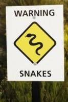 Snake Warning Sign 7347b1e3fe74facaa86a5a167cc4e98f