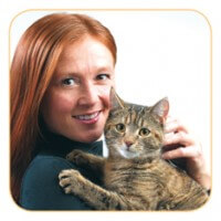 Woman With Cat 0a75bfee71a295045b4532e4ee742c1b